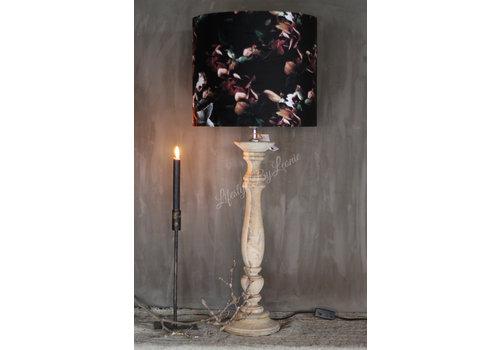 LifestyleByLeonie Baluster lampvoet naturel Belli 63 cm