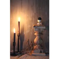 Brede baluster lampvoet naturel Cad 44 cm