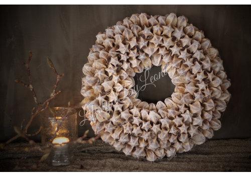 LifestyleByLeonie Krans Lily whitewash 30 cm