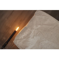 Hanglamp linnen Sand 45 cm