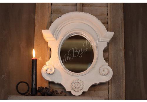 LifestyleByLeonie Ossenoog spiegel 'Cedric'| 35cm