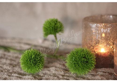 LifestyleByLeonie Zijden groene bolletjes tak 60 cm