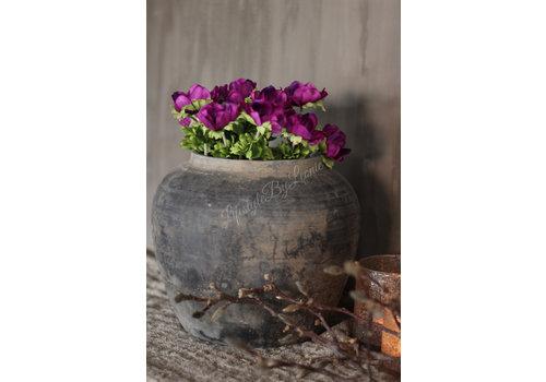 LifestyleByLeonie Zijden anemoon paars 32cm
