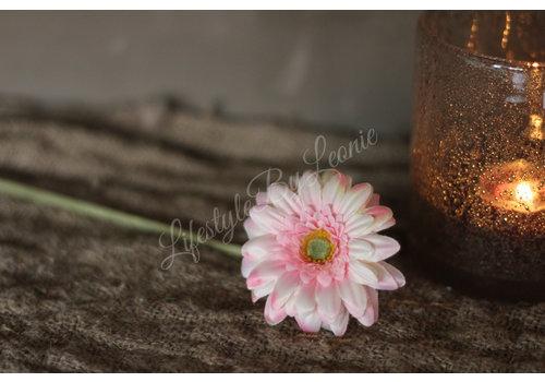 LifestyleByLeonie Zijden mini Gerbera 47 cm