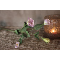 Zijden Lisianthus lila 56 cm