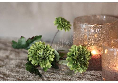 LifestyleByLeonie Zijden mini Dahlia groen 55 cm