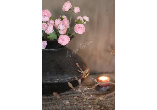 LifestyleByLeonie Zijden ranonkel tak roze - klein