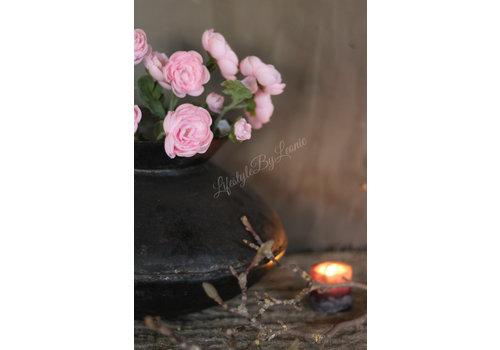 LifestyleByLeonie Zijden ranonkel tak roze - groot