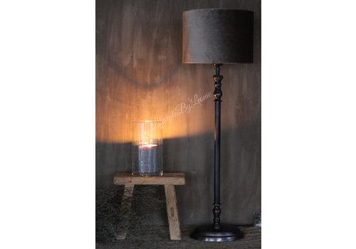 LifestyleByLeonie Metalen zwarte lampvoet Ovaal