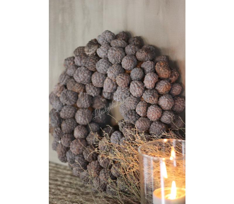 Krans Atafruit Naturel 40 cm