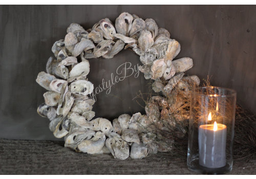 LifestyleByLeonie Sobere oesterkrans 40 cm