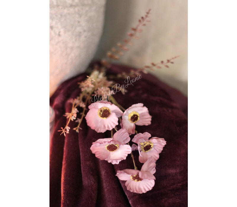 Namaak tak Field flower Mauve