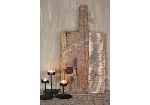 LifestyleByLeonie Tapas plank rechthoek Old wood 50 cm