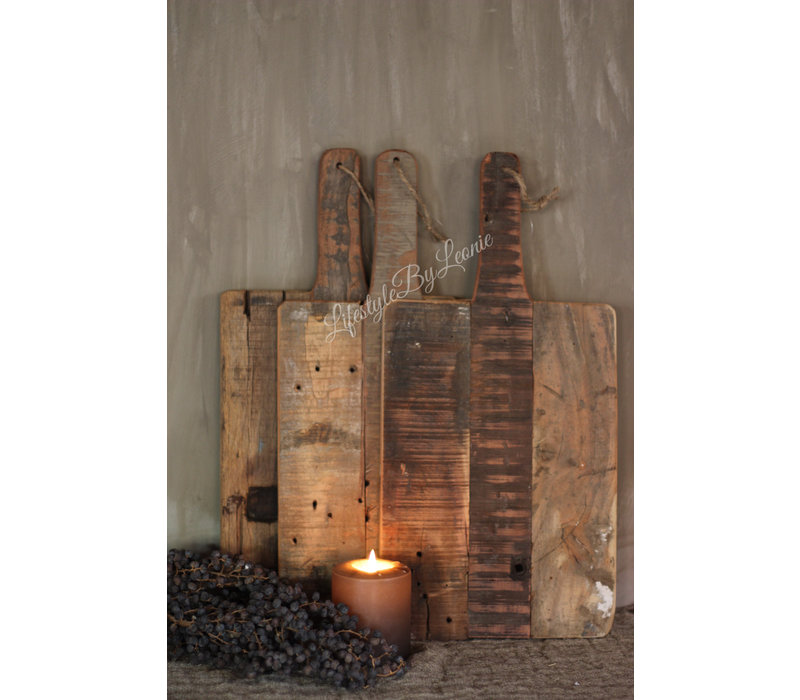 Tapas plank rechthoek Old wood 50 cm