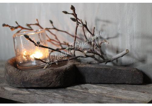 A-P Aura Peeperkorn houten lepel/plate