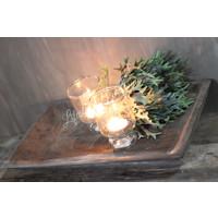 Aura Peeperkorn houten plate vierkant|39cm