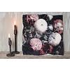 LifestyleByLeonie Kussen 'Flowerbomb'   mauve 45cm