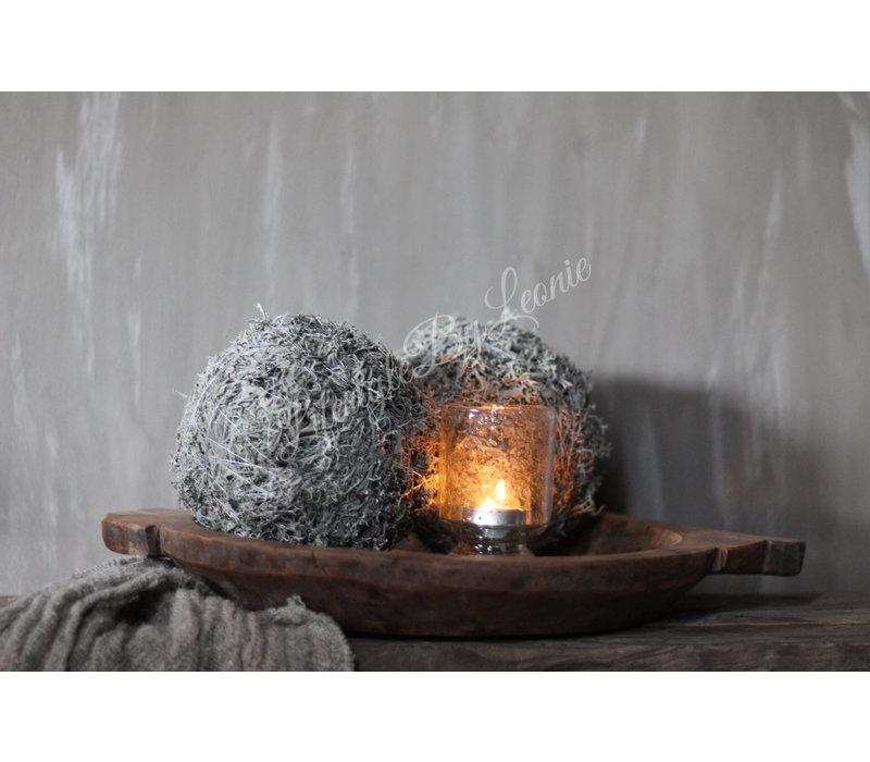 Sobere ijslandse mos bal|15cm