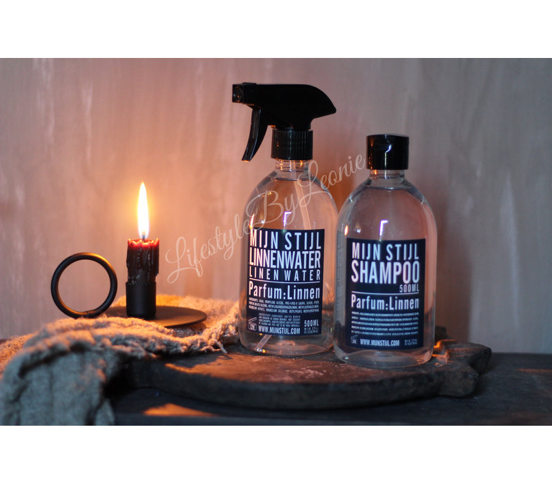 Linnenwater parfum linnen Mijn stijl