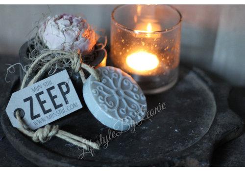 LifestyleByLeonie Zeep hanger batik schijf cotton Mijn stijl