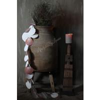 Schelpen guirlande wit naturel 120 cm