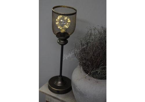 LifestyleByLeonie Hoge LED tafel lamp Draad 50 cm