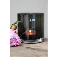 DUTZ cilinder windlicht black 10 cm