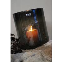 DUTZ cilinder windlicht black 25 cm