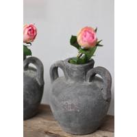 Kruik grijs beton Trophy 19 cm