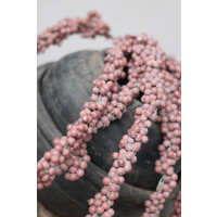 Namaak dadeltak oud roze 70 cm