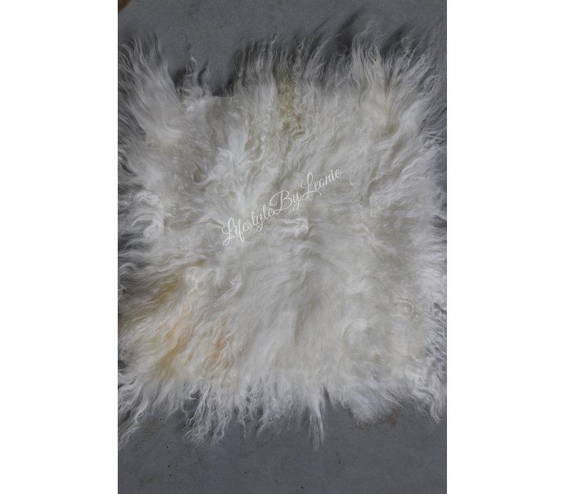 Tibetaans lamsvacht off white 40 cm
