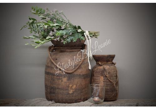 LifestyleByLeonie Toef limonium / olijf / eucalyptus