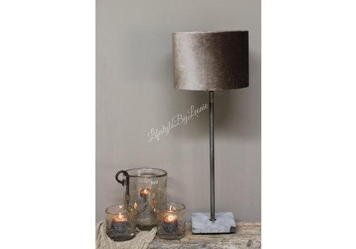 A-P Aura Peeperkorn tafellamp met hardstenen voet