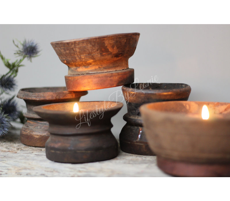 Authentiek oud Nepalees potje Mini
