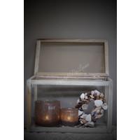 Houten memorie-box - maat L