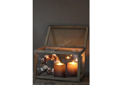 LifestyleByLeonie Houten memorie-box | L