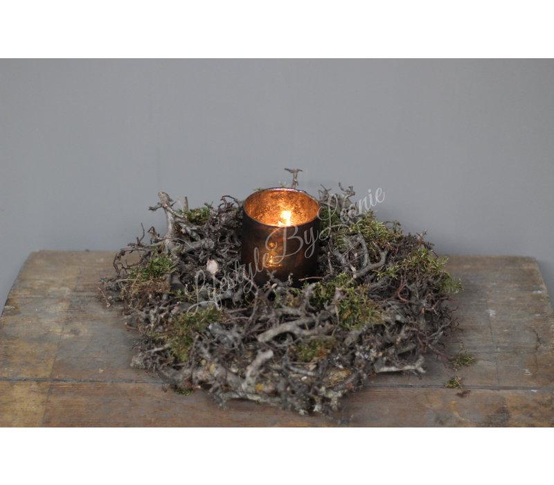 Krans bonsai / mos 30 cm