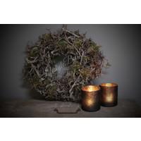 Krans bonsai / mos  30cm