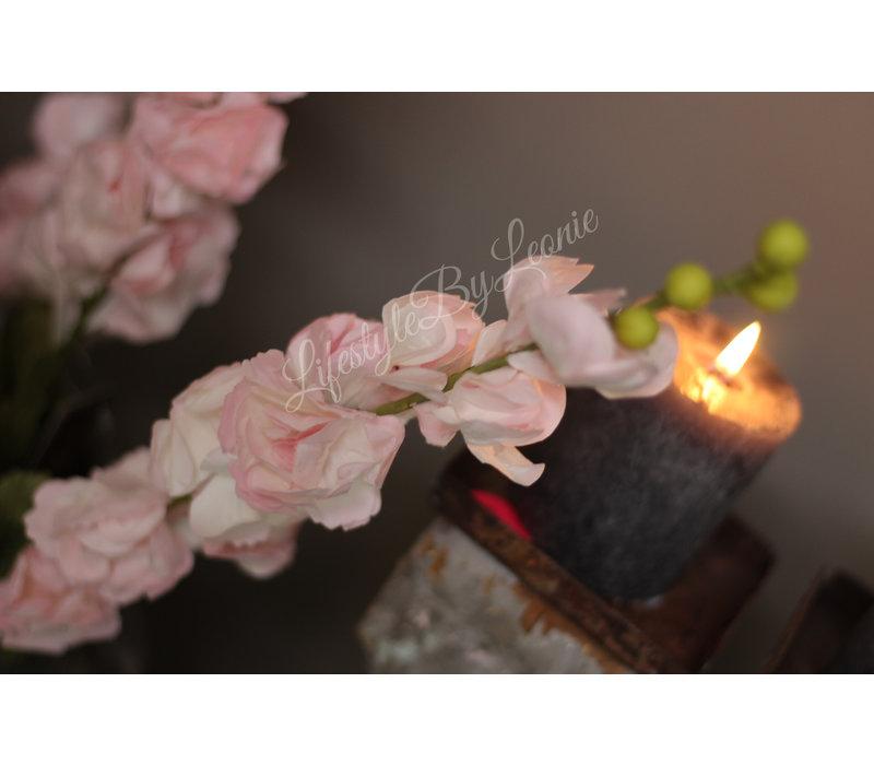 Roze delphinium tak 78 cm