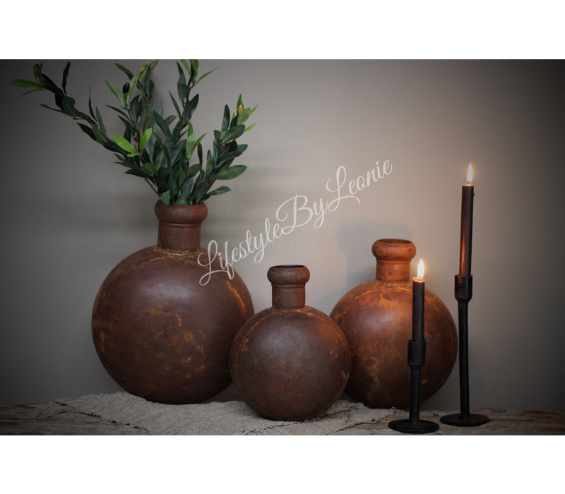 IJzeren bruine fles Folklore - maat M