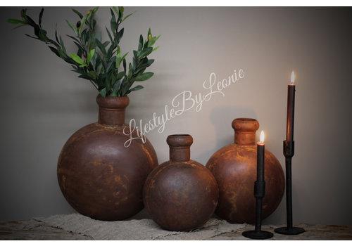 LifestyleByLeonie IJzeren bruine fles Folklore - maat L