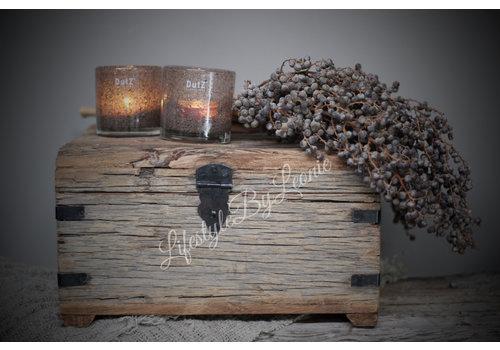 LifestyleByLeonie Oude houten kist Hima - maat M