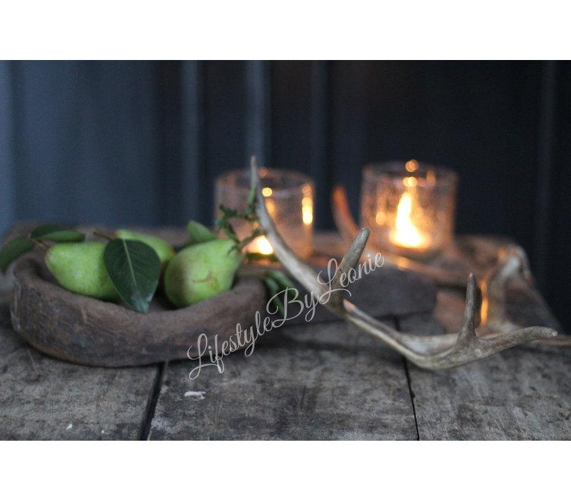 Aura Peeperkorn houten lepel/plate
