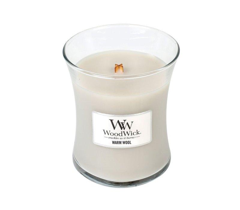 WoodWick Warm Wool medium