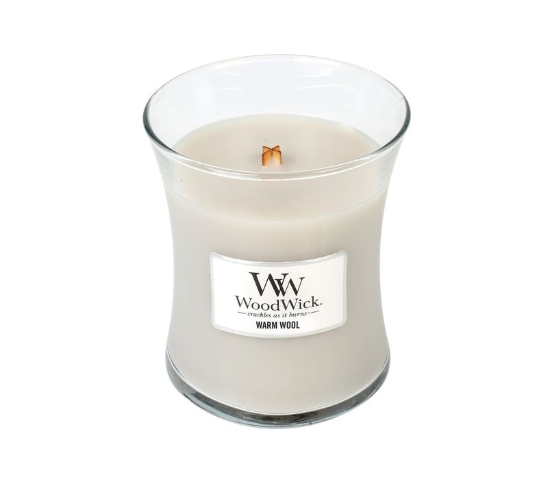 WoodWick Warm wool medium