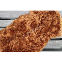 Nep schapenvacht Camel|100cm