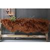 LifestyleByLeonie Nep schapenvacht Camel|100cm