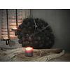 LifestyleByLeonie Krans Atafruit Black 30 cm