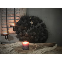 Krans Atafruit Black 30 cm