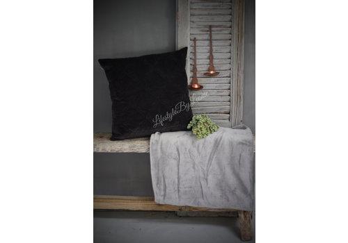 LifestyleByLeonie Plaid So soft Grey 170 cm